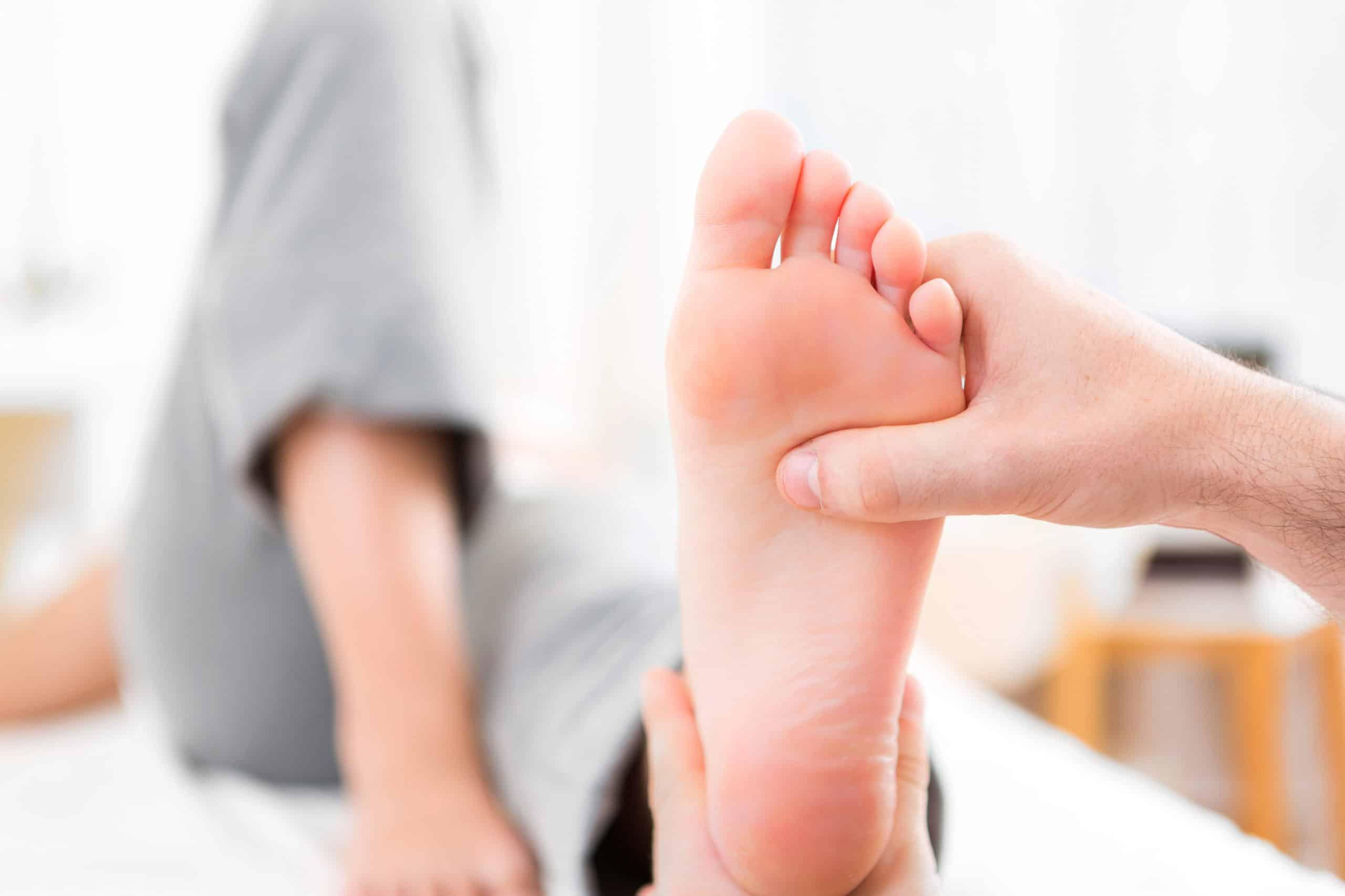 Hallux Valgus Massage Führt Zu Wohlbefinden